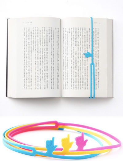 Top Five Gifts for Book Lovers - Finger Pointer Bookmark