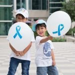 (Mohammed and Yousif) The Lama Campaign's Giveaway t-shirts and balloons
