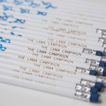 The Lama Campaign's Giveaway Pencils to Educational Institutions