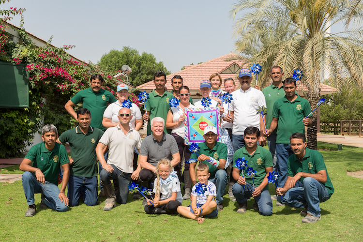 The Lama Campaign has Support and Collaboration with Desert Palm Riding School