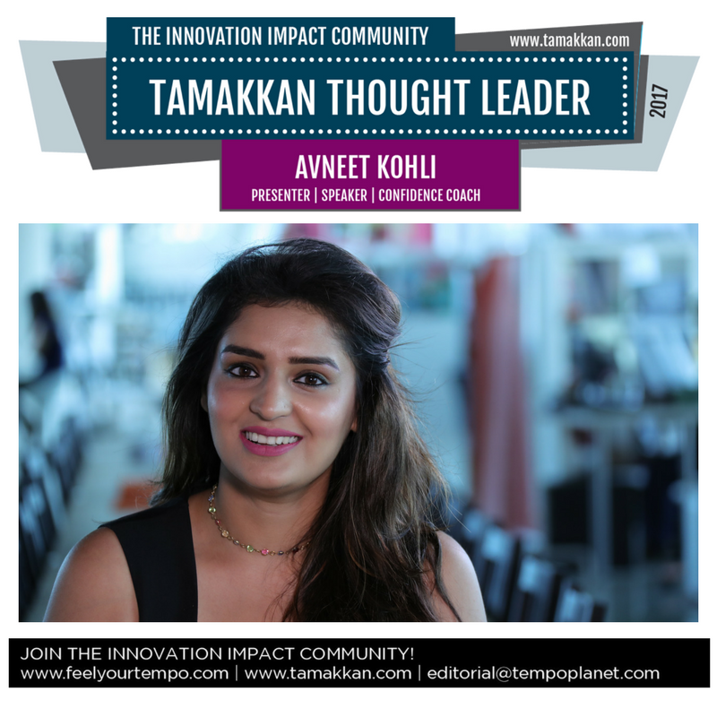 Avneet Kohli Presenter Speaker Confidence Coach